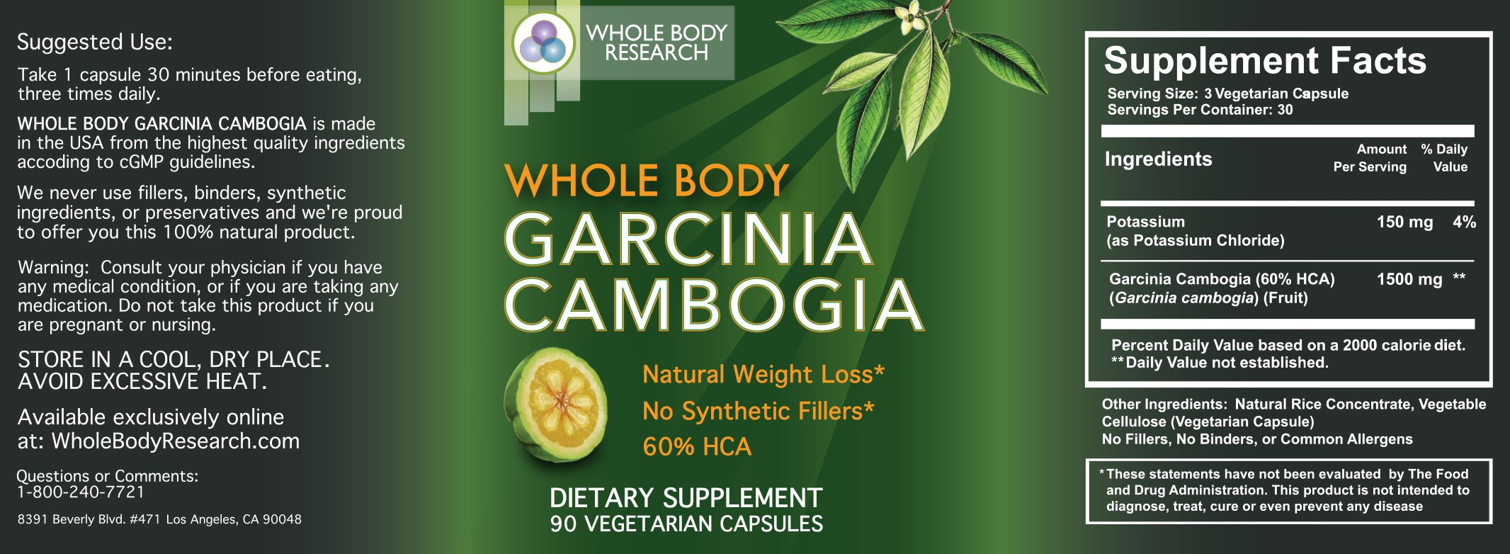 Research Verified Garcinia Cambogia Reviews