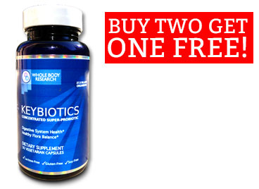 Buy 2 bottles of Keybiotics for a healthier digestive tract at $79.98 ...