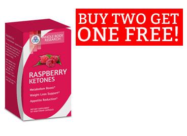 Buy 2 bottles of Whole Body Raspberry Ketones at $97.98, get 1 bottle ...